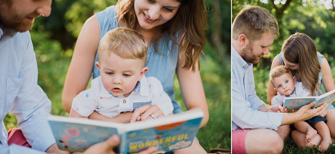 Family photography session on the Roanoke Greenway, by Laura Richards Photography