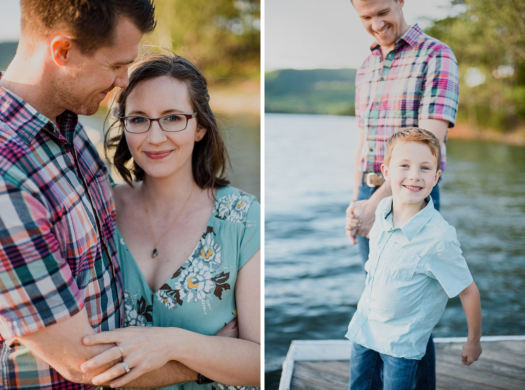 A Carvins Cove Family Session with the McCallums | Roanoke, Virginia