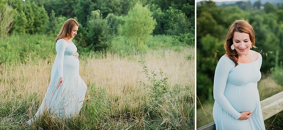 Maternity Family Photography Session in Roanoke County, Virginia | Laura Richards Photography