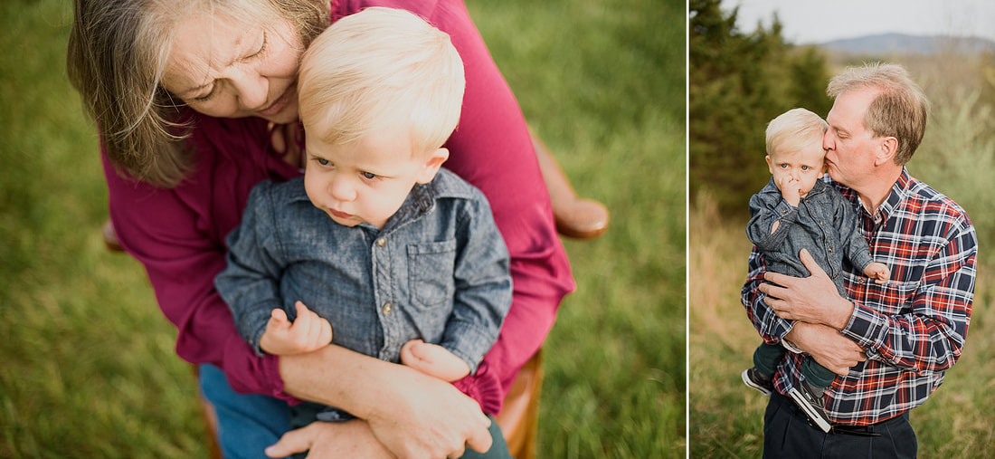 Family photography session in Roanoke County, Virginia, by Laura Richards Photography
